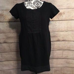 Gap Size 10 Black Long Tunic / Mini Dress